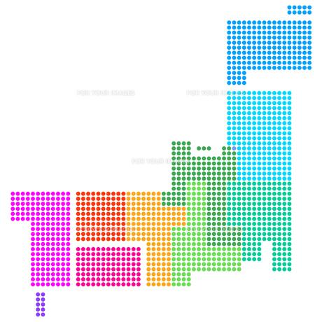 日本地図の写真素材 [FYI00161491]