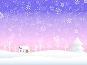 雪の写真素材 [FYI00162887]