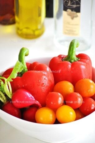 彩り野菜の写真素材 [FYI00163693]