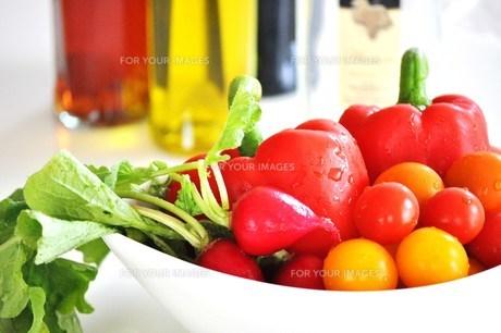 彩り野菜の写真素材 [FYI00163694]