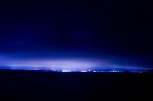 町の夜景の写真素材 [FYI00163697]