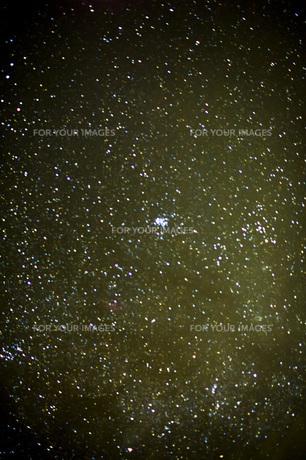 星空のスバルの写真素材 [FYI00163728]