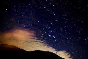 男体山の夜景の写真素材 [FYI00163734]