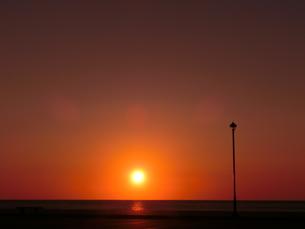夕日の素材 [FYI00164130]