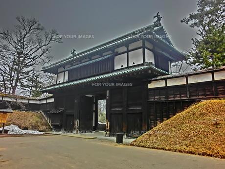 弘前公園 追手門の素材 [FYI00164136]