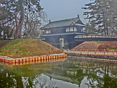 弘前公園 追手門の素材 [FYI00164137]