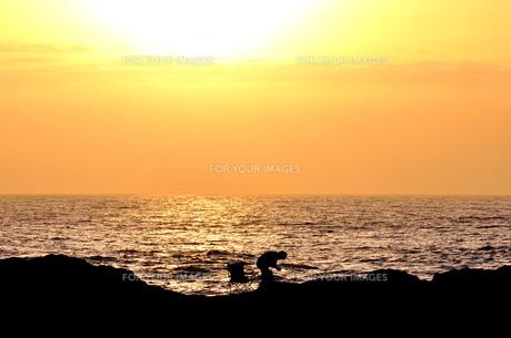 釣り人の写真素材 [FYI00164233]