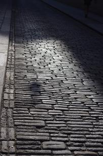 ウィーンの石畳の写真素材 [FYI00164258]