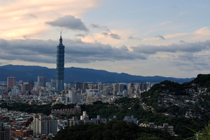 台北101の写真素材 [FYI00164291]