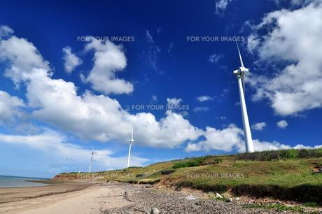 風車の写真素材 [FYI00164294]
