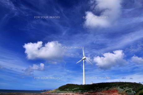 風車の写真素材 [FYI00164299]