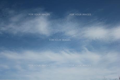 お空にお絵かきの写真素材 [FYI00164329]