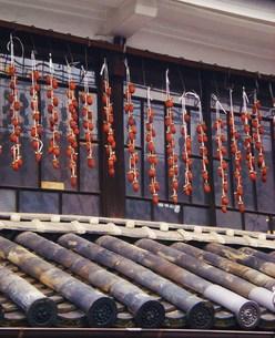 吊るし柿の写真素材 [FYI00164413]