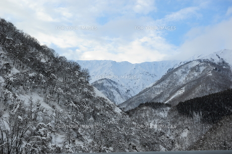 雪山の素材 [FYI00164575]
