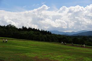 夏のスキー場の写真素材 [FYI00164578]