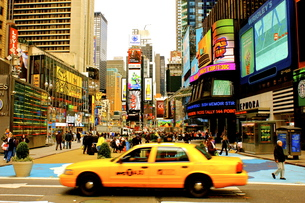 Times Squareの写真素材 [FYI00164681]