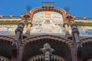 カタルーニャ音楽堂の写真素材 [FYI00164763]