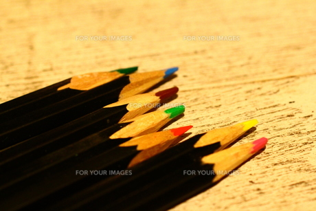 色鉛筆の写真素材 [FYI00164920]
