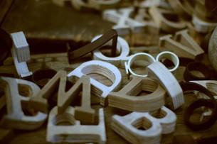 アルファベットの写真素材 [FYI00164939]