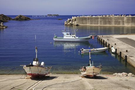 漁港の写真素材 [FYI00164978]