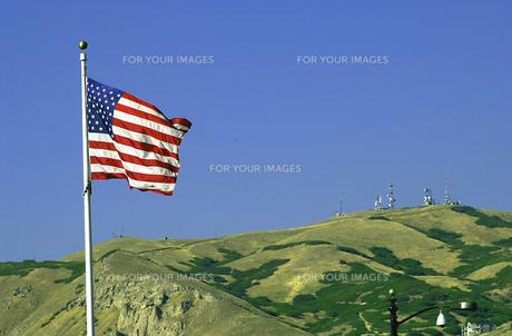 アメリカ国旗の写真素材 [FYI00165009]