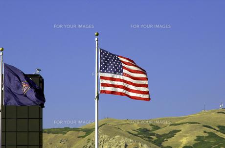 アメリカ国旗の写真素材 [FYI00165010]