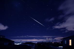 双子座流星群の写真素材 [FYI00165047]