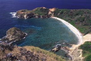 小笠原・母島 小富士から南崎を望むの写真素材 [FYI00166180]