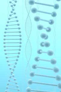 DNAと青い光の写真素材 [FYI00166232]