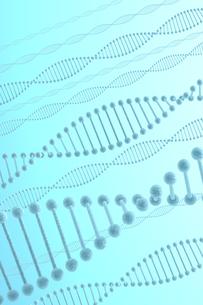 DNAと青い光の写真素材 [FYI00166237]