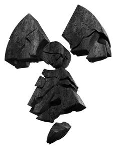 放射能マークの写真素材 [FYI00166270]