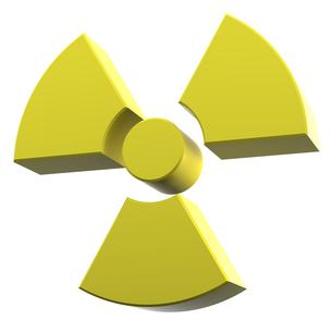 放射能マークの写真素材 [FYI00166276]