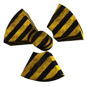 放射能マークの写真素材 [FYI00166283]