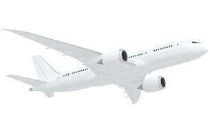 CGの飛行機の写真素材 [FYI00166369]