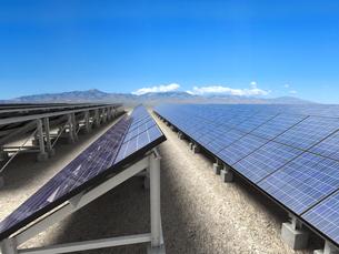 ソーラー発電所の写真素材 [FYI00166461]