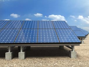 ソーラー発電所の写真素材 [FYI00166471]