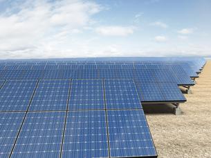ソーラー発電所の写真素材 [FYI00166472]