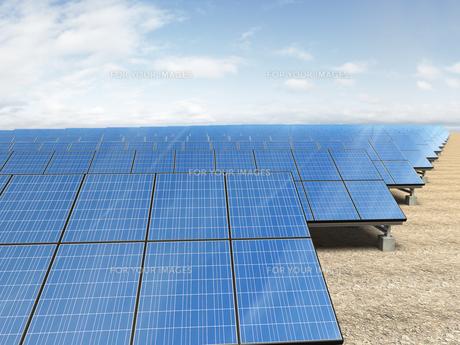 ソーラー発電所の写真素材 [FYI00166476]