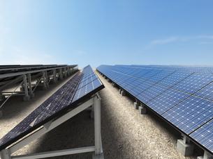 ソーラー発電所の写真素材 [FYI00166477]