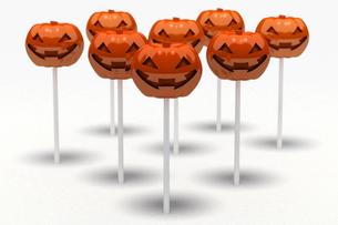 かぼちゃキャンディーの写真素材 [FYI00166498]