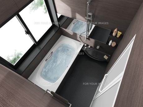 浴室aの写真素材 [FYI00166530]