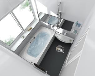 浴室dの写真素材 [FYI00166537]