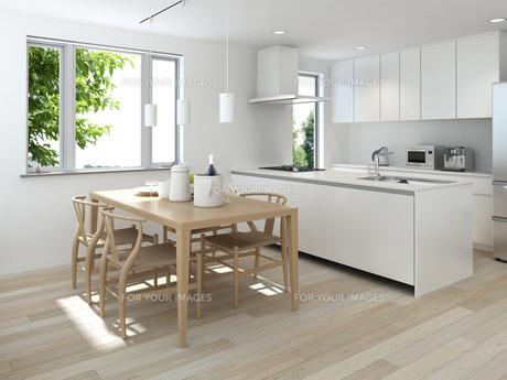 キッチンシーン3の写真素材 [FYI00166609]