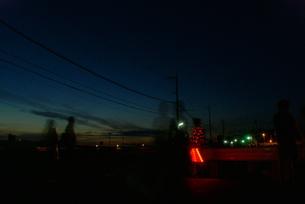 夕闇shadowの写真素材 [FYI00166640]