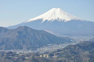 高川山からの富士山の写真素材 [FYI00166714]
