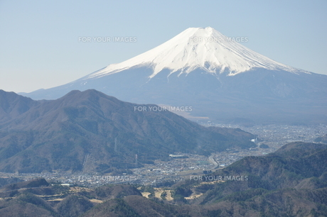 高川山からの富士山の素材 [FYI00166718]