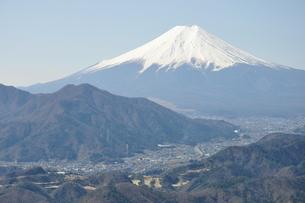 高川山からの富士山の写真素材 [FYI00166718]
