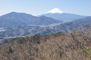 高川山からの富士山の写真素材 [FYI00166723]
