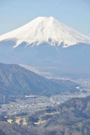 高川山からの富士山の素材 [FYI00166725]