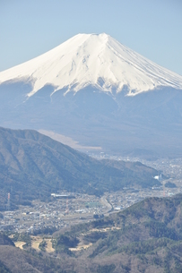 高川山からの富士山の写真素材 [FYI00166725]